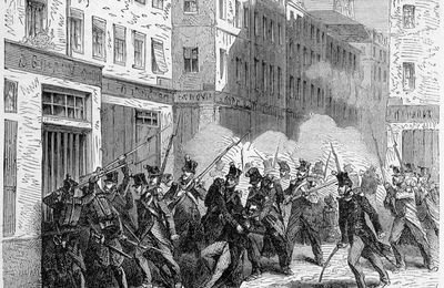 9 avril 1834 - Seconde insurrection des canuts
