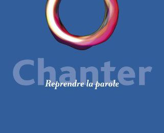 """chanter"" de vincent delecroix"