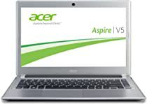 Acer Aspire V5-431-887B4G50Mass 33,6 cm (14 Zoll) Thin & Light Notebook (Intel 887, 1,5GHz, 4GB RAM, 500GB HDD, Intel HD, DVD, Win 8) silber