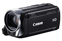Canon LEGRIA HF R306 Full-HD Camcorder (HD-CMOS Sensor, 7,5 cm (3 Zoll) Touch-LCD, 32-fach opt. Zoom, SDXC-Kartenslot, Intelligent IS) schwarz