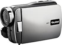 Rollei Movieline SD 40 Camcorder (5 Megapixel Kamera, 7,62 cm (3,0 Zoll) Touchpanel, Full HD, 4-fach digitaler Zoom, Micro-SD, USB 2.0) schwarz
