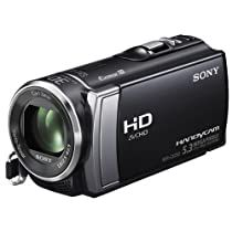 Sony HDR-CX200EB Full-HD Camcorder (6,7 cm (2,7 Zoll) Touchscreen, 5 Megapixel, 25x opt. Zoom, HDMI) iAUTO schwarz