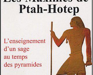 Maxime de PtahHotep - Hiéroglyphes et hiératique
