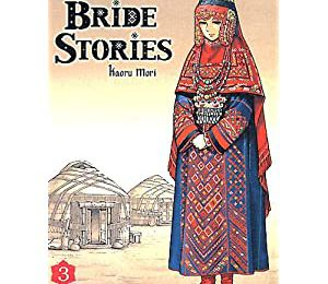 Brides stories - manga de brodeuse