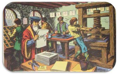 De la naissance de l'imprimerie à aujourd'hui