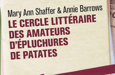 Le cercle littéraire des amateurs d'épluchures de patates d'Ann Mary Shaffer