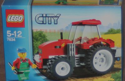 7634 - Le tracteur / Tractor
