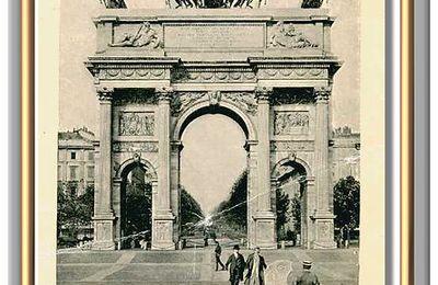 MILAN. - Arc de Paix