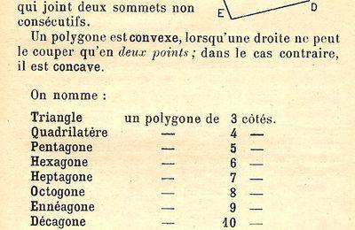 Lexique : Polygone