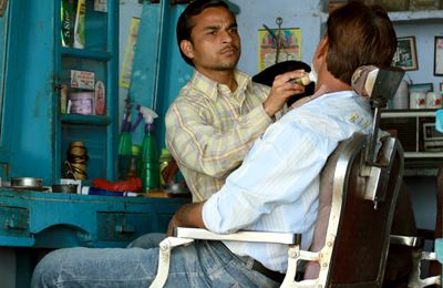 Barbier en Inde