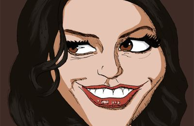 Caricature 007 - Catherine Zeta-Jones