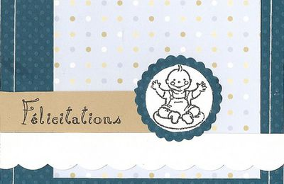 Carte félicitations naissance Noah