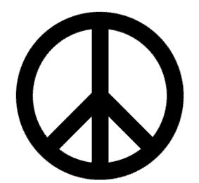 Origine du symbole Peace and Love