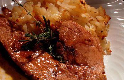 Rouelle de Porc en Cocotte au Four