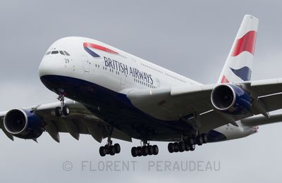 F-WWSK // G-XLEA British Airways Airbus A380-841 - cn 095