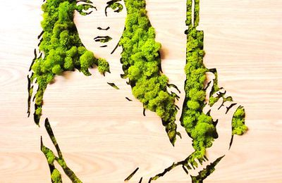"Grass Art: ""ILHANA'S GOT A GUN"" by Xavier Ride"