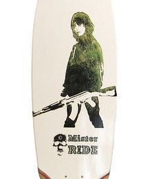 SK8 BOARD Green by Mister RIDE