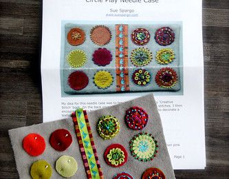 Circle Needle Case - Sue Spargo