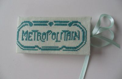 Range Tickets de métro