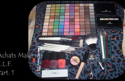Achats Make Up E.L.F. Part. 1