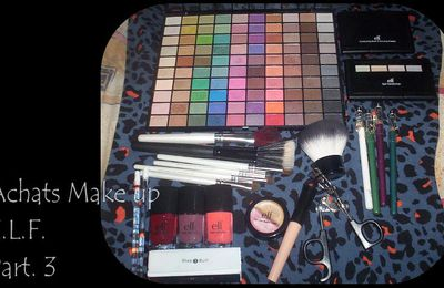 Achats Make Up E.L.F. Part. 3