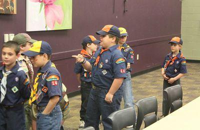 il noviziato negli scouts