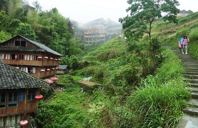 Guangxi (13) ... Regards sur le village de Pingan