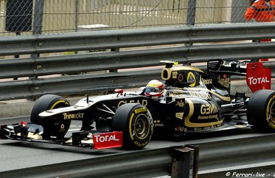 F1 LOTUS RENAULT - ROMAIN GROSJEAN