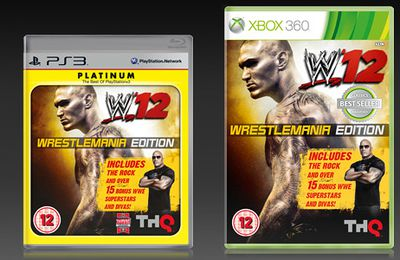 WWE' 12 : Edition Wrestlemania
