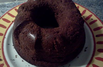Gateau au chocolat saveur d'enfance : recette Tupperware