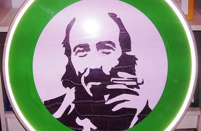 Street Art: Panneau de signalisation Richard Hamilton by Mr Ride