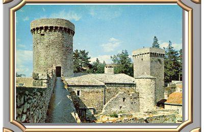 La Couvertoirade - Les tours du Nord.