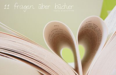 Reading, dreaming with open eyes - 11 fragen über Bücher