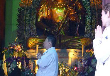 Guangdong (7) ... Guangzhou : une ile,Shamian,et un temple,Guangxiao