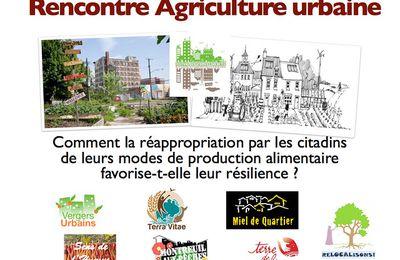 Mardi 2 octobre 2012 : Participez à la rencontre sur l'Agriculture urbaine dans le cadre du Festival des Utopies Concrètes - FUC