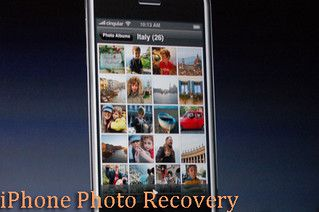 Quickly Recvoer deleted iPhone Photos-Instructions On How to