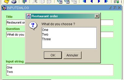 A multi-lines input dialog box