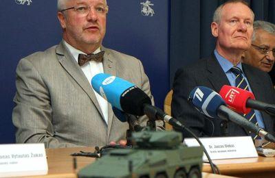 Lituanie: entrainement à la guérilla urbaine