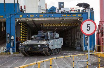 L'Estonie réceptionne ses premiers CV9035NL