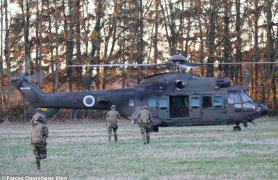Photos. Exercice Black Blade en Belgique