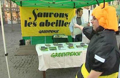 Greenpeace se mobilise contre les pesticides !