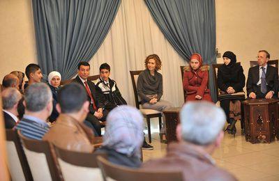 L'épouse du président syrien explique pourquoi elle a rejeté des « offres » de quitter la Syrie