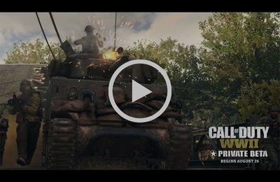 ACTUALITE : Le #trailer de la #Beta privée de #CallOfDutyWWII