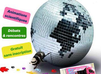 Festival AUX SCIENCES CITOYENS !  Samedi 10 et dimanche 11 juin 2017, de 10h à 18h, sur l'Esplanade Charles de Gaulle à Nîmes.
