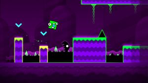Geometry Dash expands on the frantic music