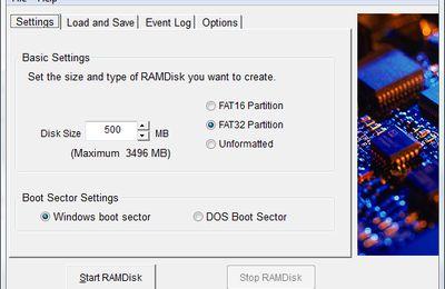 Système/Utilitaire : Augmenter la vitesse de chargement des navigateurs en utilisant de RAM-Disk.
