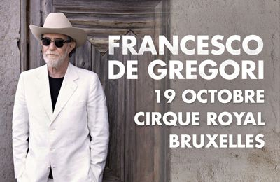 Francesco De Gregori - 19/10/17 - Cirque Royal