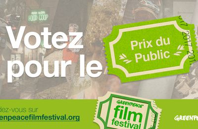 voter pour un film green peace