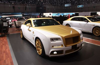 2016 Mansory - Royce Wraith Palm Edition 999