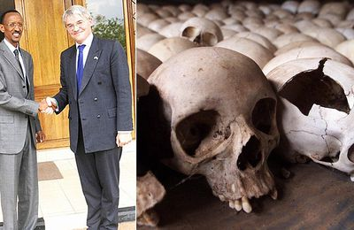 UK/Rwanda : How Andrew Mitchell fawned over Paul Kagame a genocidal African dictator, before handing him £16m of YOUR money
